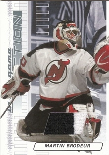 BRODEUR Martin ITG Action 2003/2004 Jersey M-181