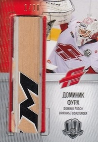 FURCH Dominik KHL 2017/2018 GU Stick STI-024 1/20