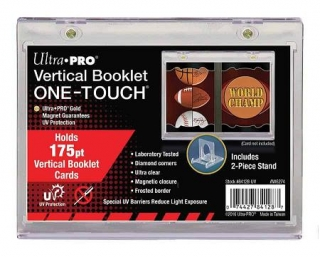 One Touch Magnetic Holder Ultra Pro Vertical Booklet 175PT