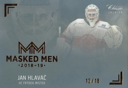 HLAVÁČ Jan OFS Classic CL 2018/2019 Masked Men č. 21 Rainbow /18