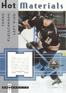 FLEISCHMANN Tomáš Fleer Hot Prospects 2005/2006 Hot Materials Jersey HM-TF