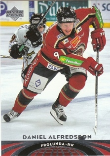 ALFREDSSON Daniel UD All World 2004/2005 č. 57