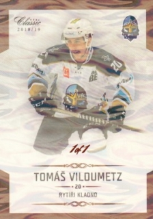 VILDUMETZ Tomáš OFS Classic CL 2018/2019 č. 47 Ice Water 1of1