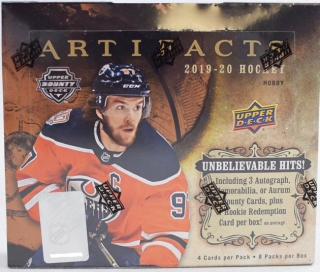 UD Artifacts 2019/2020 Hobby Box