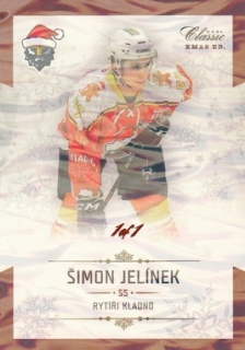 JELÍNEK Šimon OFS Classic CL 2018/2019 XMAS RKX05 Ice Water 1of1