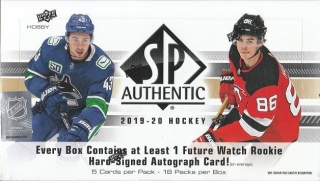 UD SP Authentic 2019/2020 Hobby Box