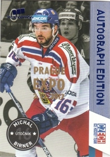BIRNER Michal CZECH Ice Hockey Team 2016 č. 1 EXPO PRAGUE
