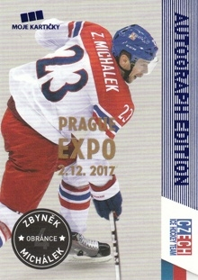 MICHÁLEK Zbyněk CZECH Ice Hockey Team 2016 č. 31 EXPO PRAGUE