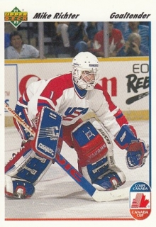 RICHTER Mike UD 1991/1992 č. 34 Canada Cup