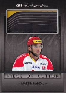 HANZAL Martin OFS Exclusive 2012/2013 Piece Of Action č. 24 /25