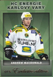 MACDONALD Andrew OFS Exclusive 2012/2013 č. 39