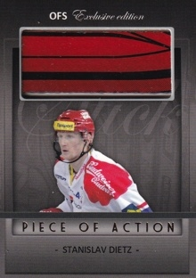 DIETZ Stanislav OFS Exclusive 2012/2013 Piece Of Action č. 20 /15