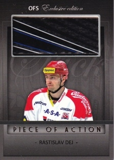 DEJ Rastislav OFS Exclusive 2012/2013 Piece Of Action č. 23 /15