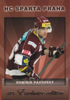 PACOVSKÝ Dominik OFS Exclusive 2012/2013 č. 3